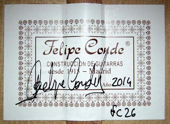 Felipe Conde 2014 - Guitar 6 - Photo 6