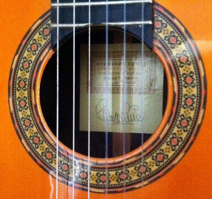 Hermanos Conde 1990 - Guitar 6 - Photo 12