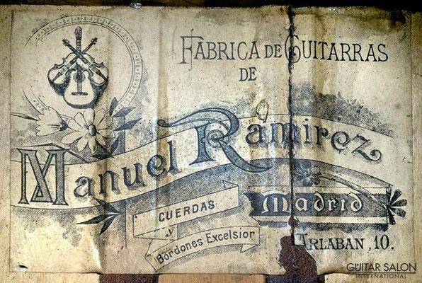 Manuel Ramirez 1903 - Guitar 1 - Photo 3