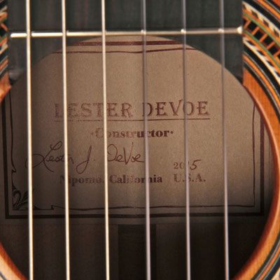 Lester Devoe 2015 - Guitar 4 - Photo 4