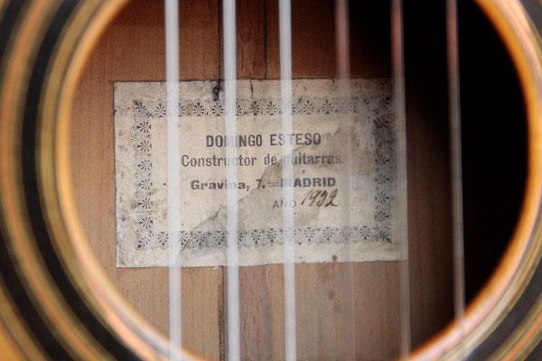 Domingo Esteso 1932 - Guitar 5 - Photo 2