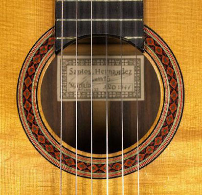 Santos Hernandez 1941 - Guitar 1 - Photo 5