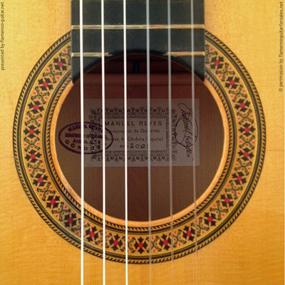 MANUEL REYES HIJO | GUITAR  GITARRE | 2008  | ROSETTES ROSETTEN