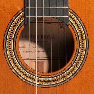 Lester Devoe 2015 - Guitar 4 - Photo 1