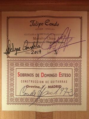 Sobrinos de Esteso Moraito Re-Edition 1972 - Guitar 7 - Photo 5