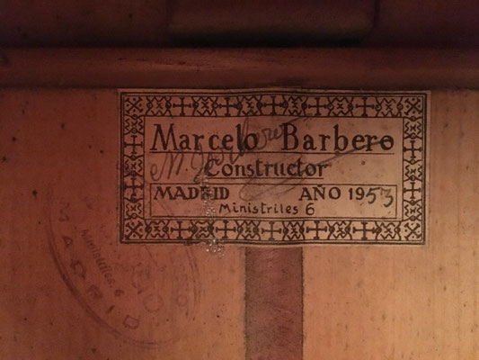 Marcelo Barbero 1953 - Guitar 3 - Photo 3