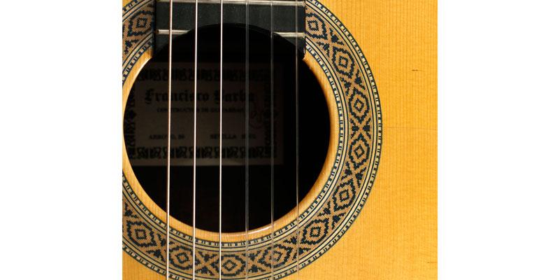 Francisco Barba 2002 - Guitar 3 - Photo 6