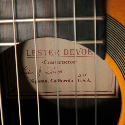 Lester Devoe 2016 - Guitar 2 - Photo 3