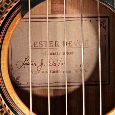 Lester Devoe 2010 - Guitar 3 - Photo 2