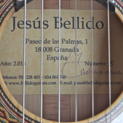 Jesus Bellido 2013 - Guitar 1 - Photo 1
