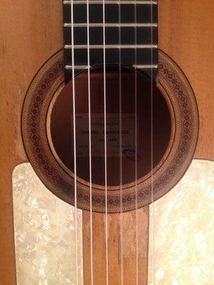 Miguel Rodriguez 1962 - Guitar 4 - Photo 24