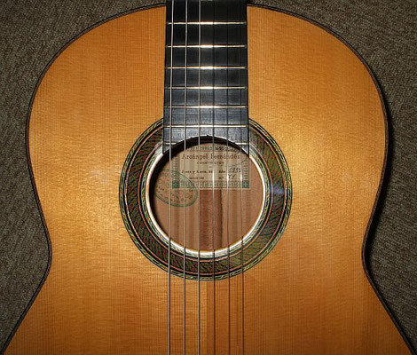 Arcangel Fernandez 1959 - Guitar 1 - Photo 3