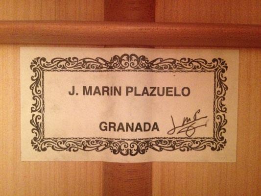 Jose Marin Plazuelo 2014 - Guitar 1 - Photo 2