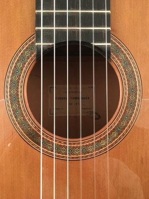 Miguel Rodriguez 1971 - Guitar 2 - Photo 12