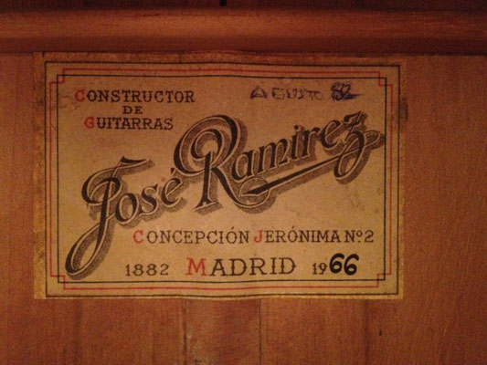 Jose Ramirez 1966 - Guitar 3 - Photo 2