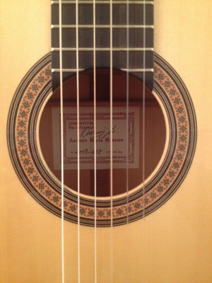 Antonio Marin Montero 2009 - Guitar 3 - Photo 22
