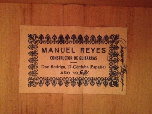 Manuel Reyes 1962 - Guitar 2 - Photo 2