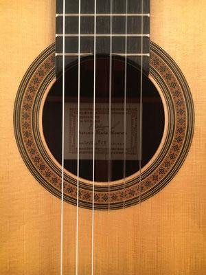 Antonio Marin Montero 2015 - Guitar 3 - Photo 1