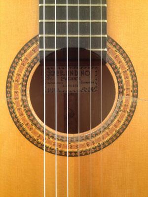 Gerundino Fernandez 1987 - Pepe Habichuela - Guitar 2 - Photo 1