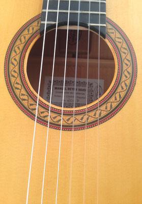 Manuel Reyes Hijo 2007 - Guitar 2 - Photo 6