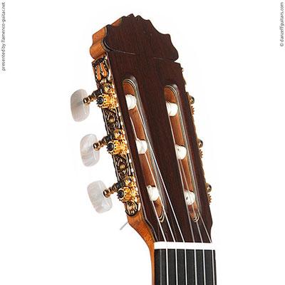MANUEL REYES HIJO | GUITAR  GITARRE | 2006  | HEADSTOCKS | GITARREN-KOPF