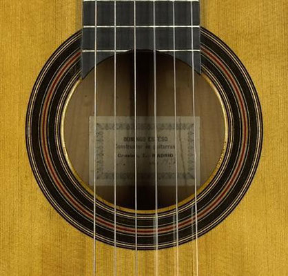 Domingo Esteso 1932 - Guitar 2 - Photo 2