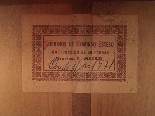 HERMANOS CONDE 1971 - Guitar 4 - Photo 5