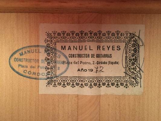 Manuel Reyes 1972- Guitar 2 - Photo 27