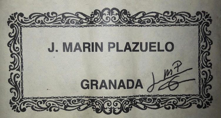 Jose Marin Plazuelo 2018 - Guitar 2 - Photo 20