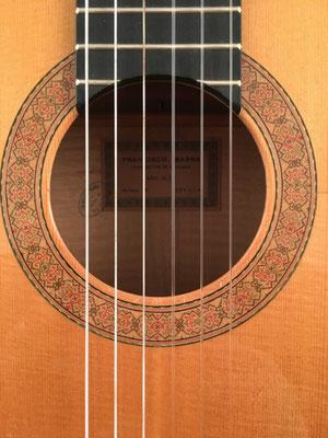 Francisco Barba 1971 - Guitar 2 - Photo 1