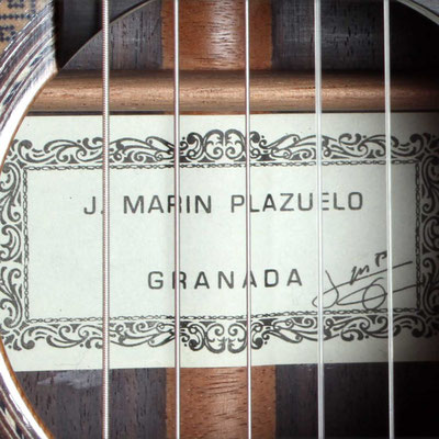 Jose Marin Plazuelo 2013 - Guitar 2 - Photo 1