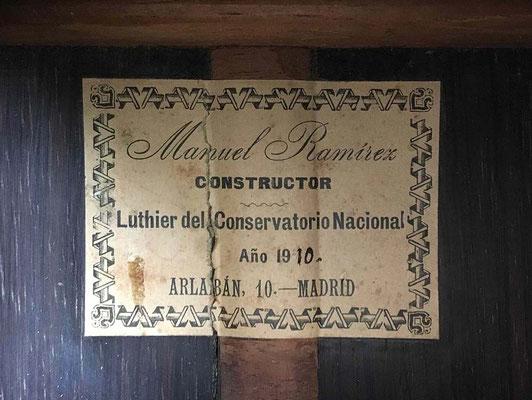 Manuel Ramirez 1910 - Guitar 3 - Photo 7