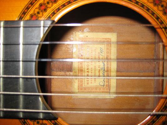 Hermanos Conde - Sobrinos de Esteso - 1989 - Guitar 2 - Photo 8