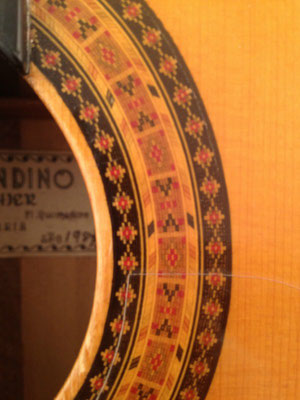 Gerundino Fernandez 1987 - Guitar 1 - Photo 8