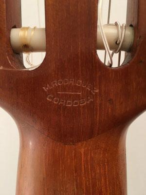 Miguel Rodriguez 1968 - Guitar 2 - Photo 10