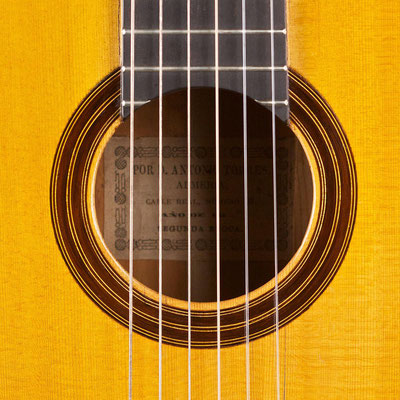 Antonio de Torres 1886 - Guitar 1 - Photo 3