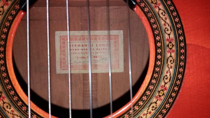Hermanos Conde 1981 - Guitar 5 - Photo 4