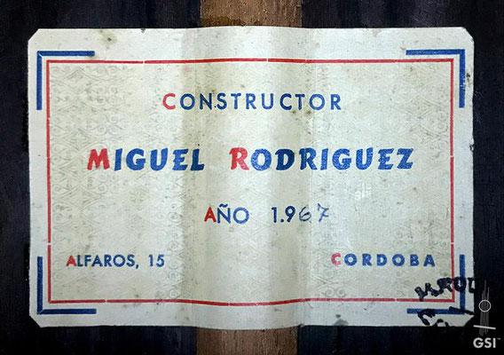 Miguel Rodriguez 1967 - Guitar 1 - Photo 11