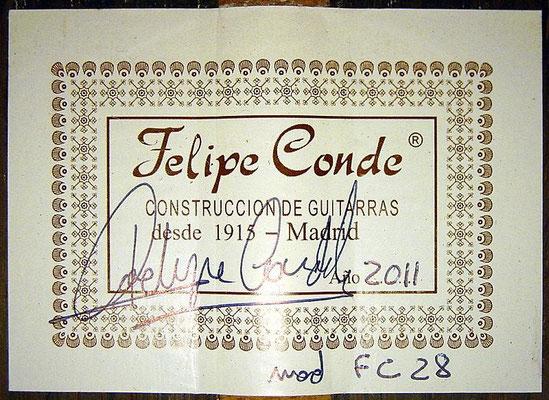 Felipe Conde 2011 - Guitar 5 - Photo 6