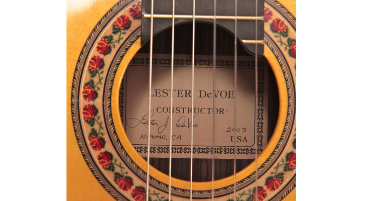 Lester Devoe 2003  - Guitar 1 - Photo 4
