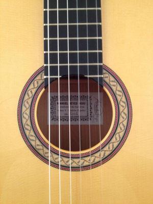 Manuel Reyes Hijo 2005 - Guitar 1 - Photo 2