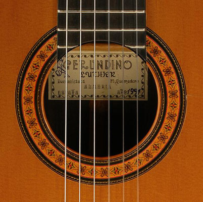 Gerundino Fernandez 1991 - Guitar 2 - Photo 5