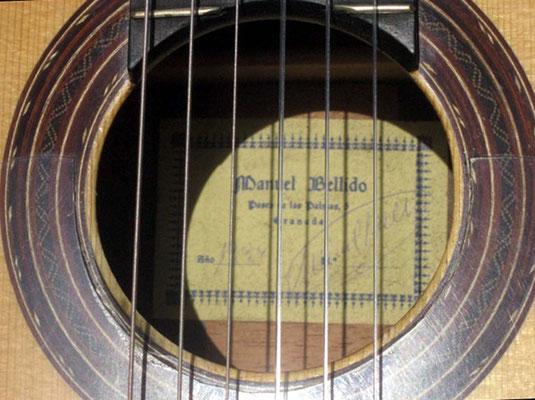 Manuel Bellido 1994 - Guitar 1 - Photo 4
