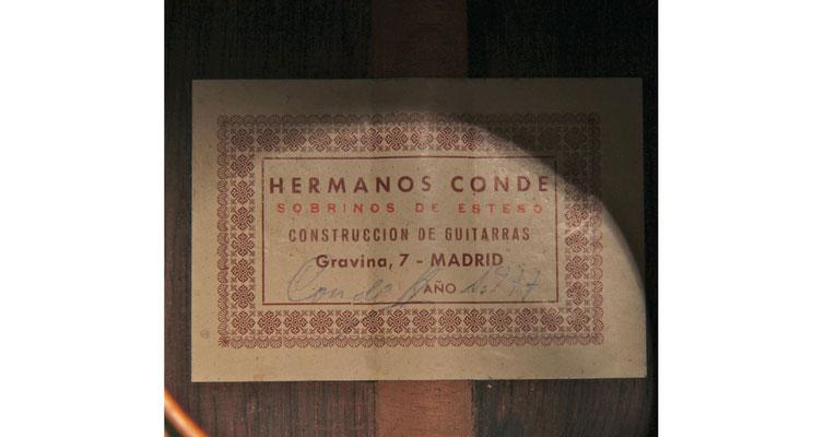 Hermanos Conde 1977 - Guitar 2 - Photo 6