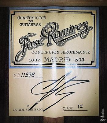 Jose Ramirez 1977 - Guitar 2 - Photo 4