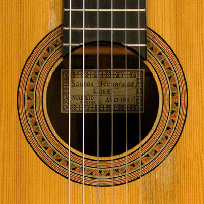 Santos Hernandez 1938 - Guitar 1 - Photo 3