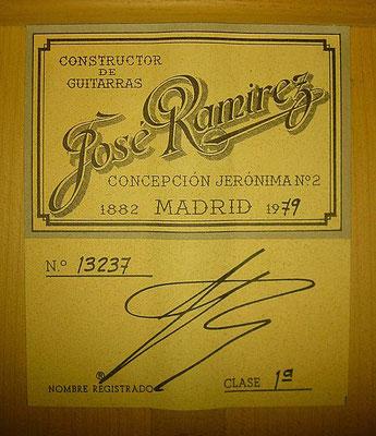 Jose Ramirez 1979 - Guitar 2 - Photo 5