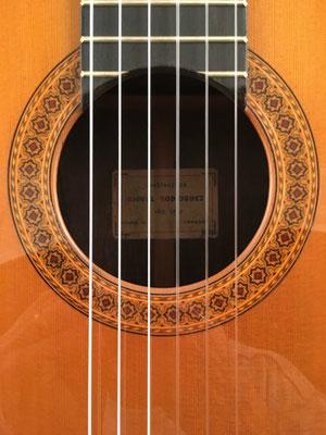 Miguel Rodriguez 1968 - Guitar 3 - Photo 14