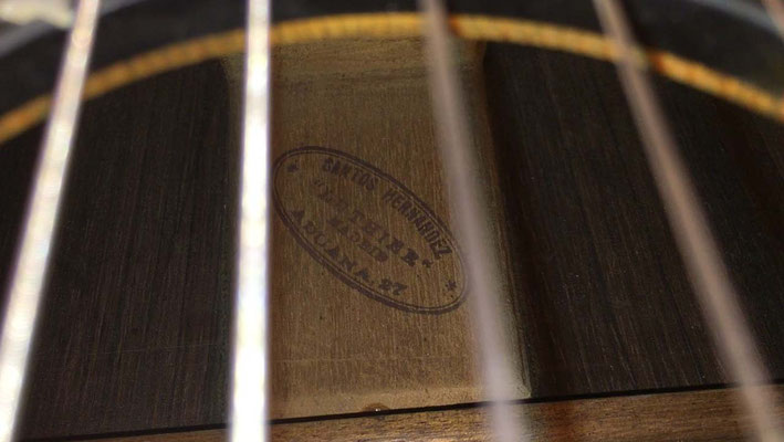 Santos Hernandez 1926 - Guitar 1 - Photo 34