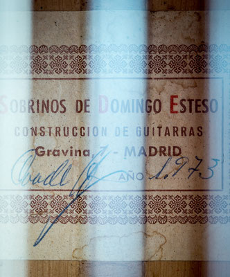 Sobrinos de Domingo Esteso 1973 - Guitar 1 - Photo 6